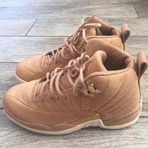NWOB Air Jordan Vachetta 12 Tan Women's Size 5